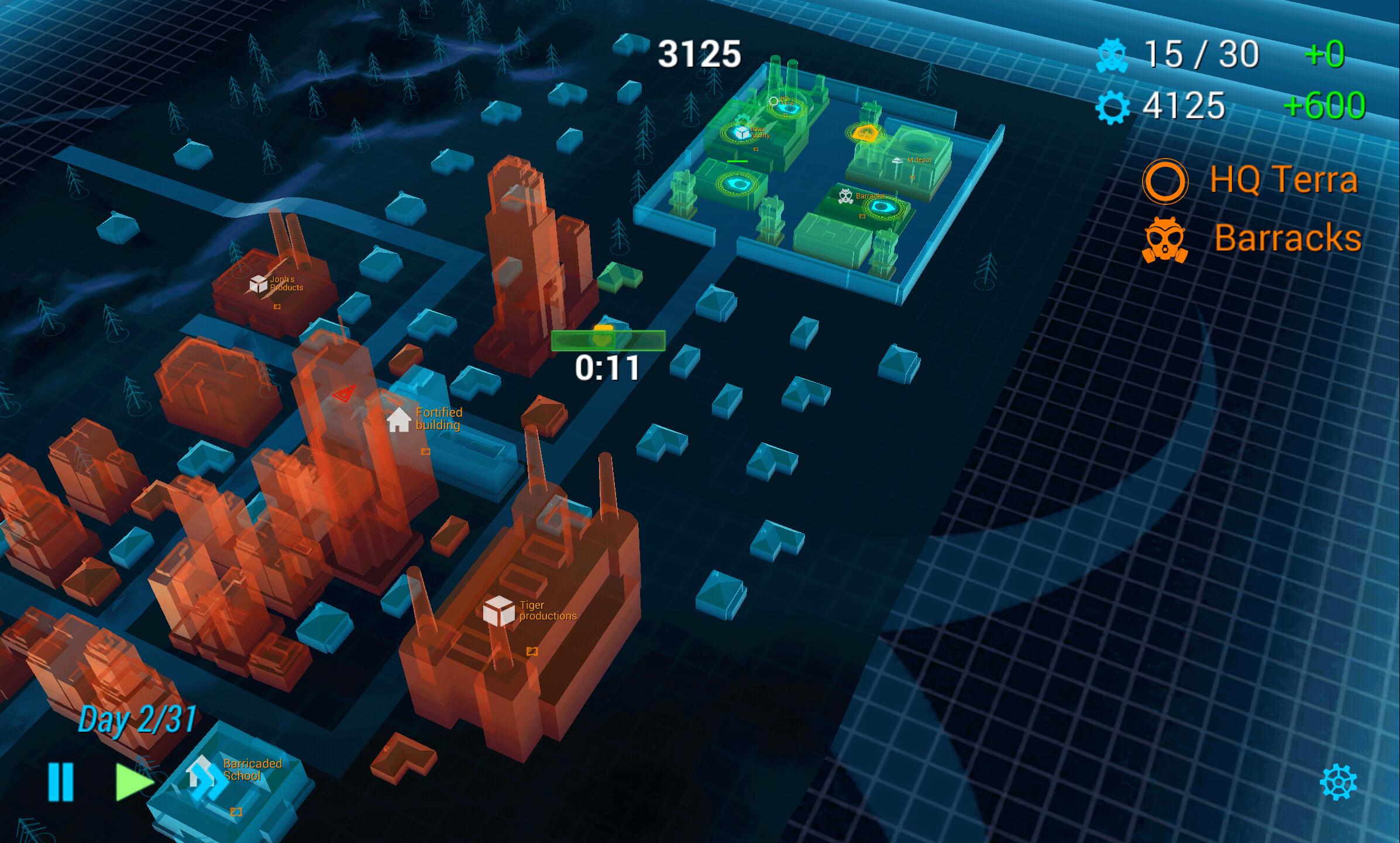 Zombie City Defense - tower-defense hra bez nutnosti stavět obranné věže