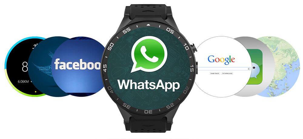 e5530af4d90 KingWear KW88 - Královské hodinky s Androidem a velmi zajímavou ...