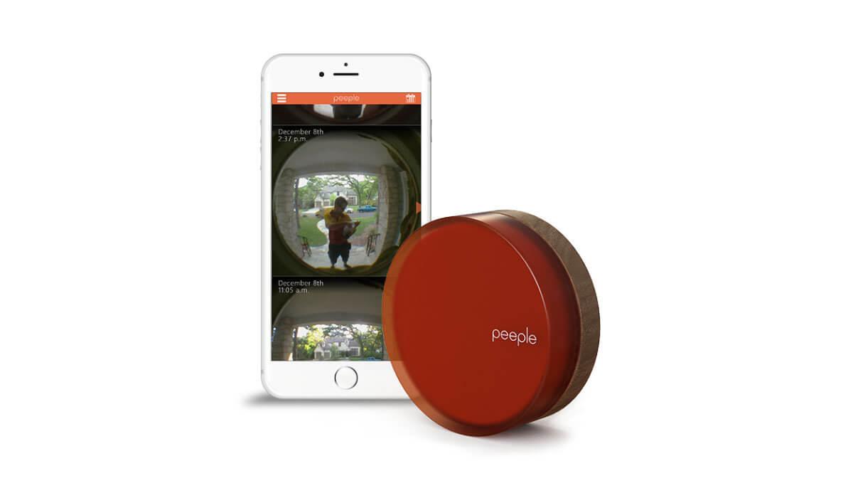 Peeple - chytré kukátko pro vaše domovní dveře umožní sledovat příchozí lidi pomocí android aplikace