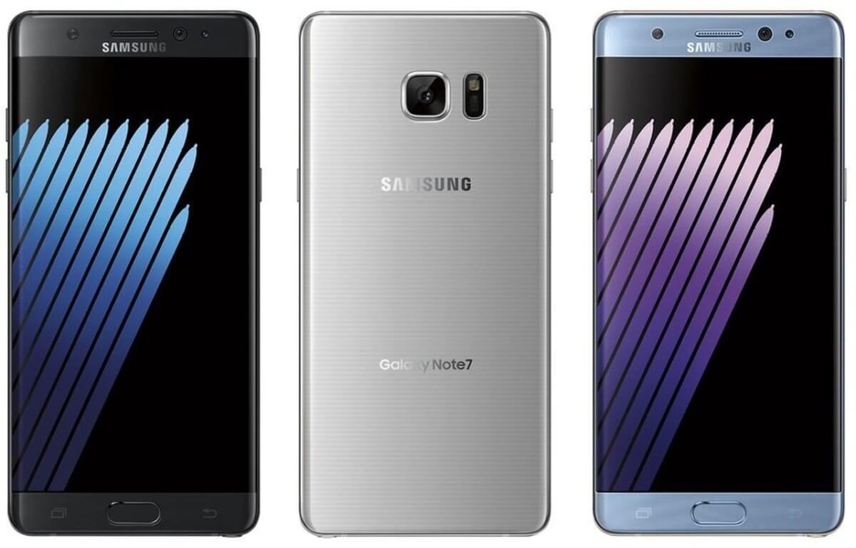 Smartphone Samsung Galaxy Note 7