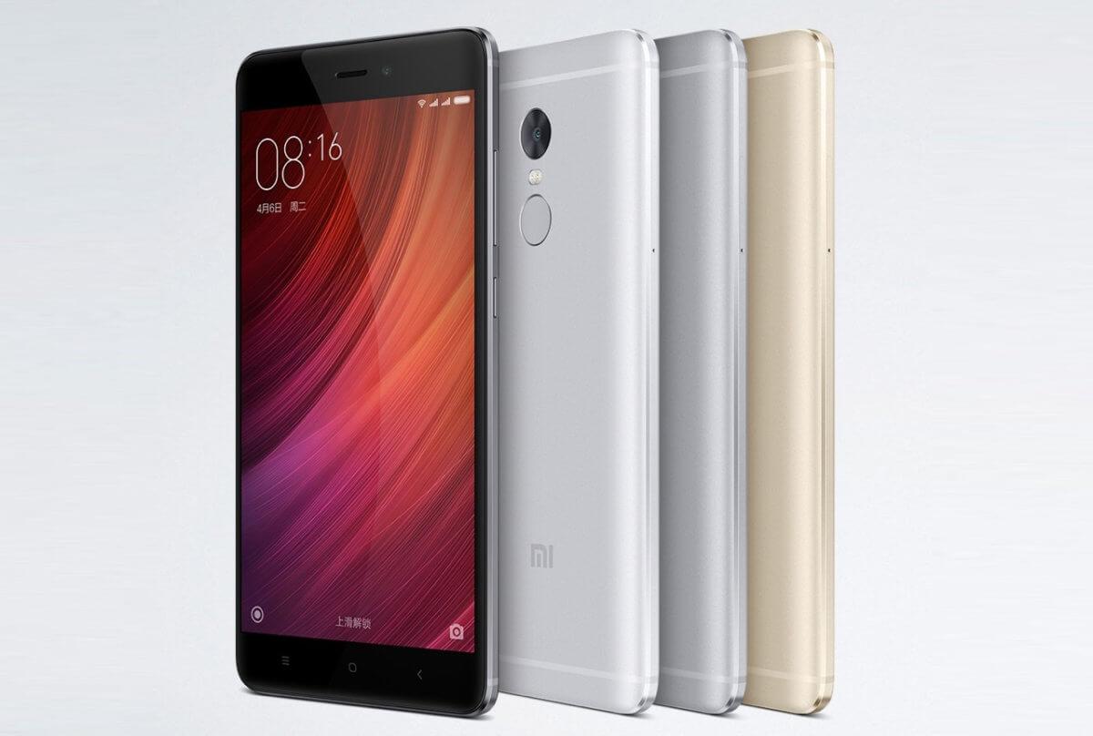 Xiaomi Redmi Note 4 varianty