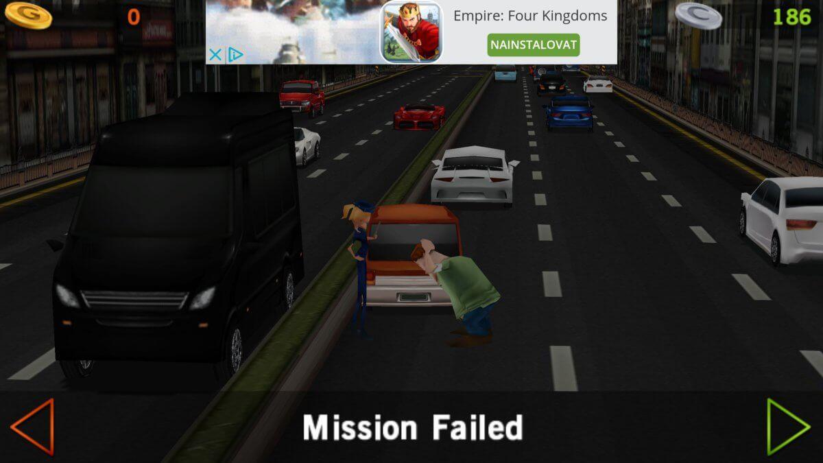 Dr. Driving - řidič po bouračce ostře lamentuje
