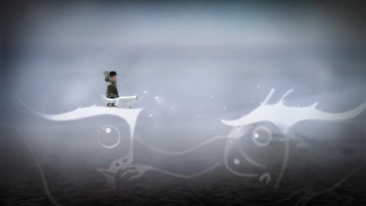 Never Alone: Ki Edition - tyhle výjevy jsou krásné a silně pohádkové