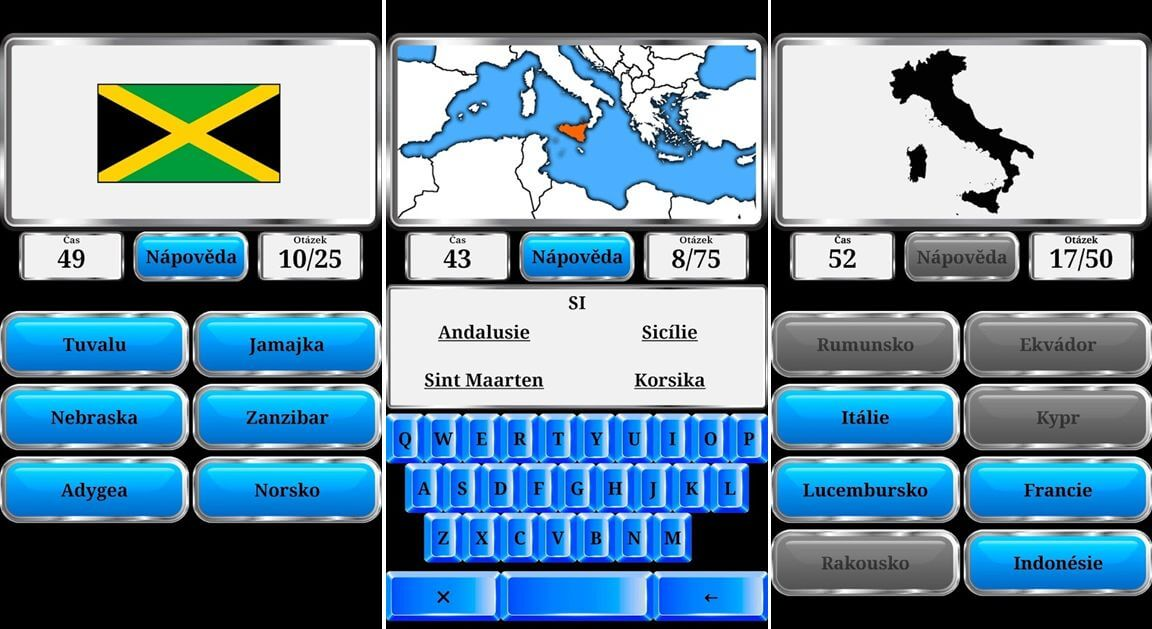 Světová Geografie - poznávej státy a jejich vlajky