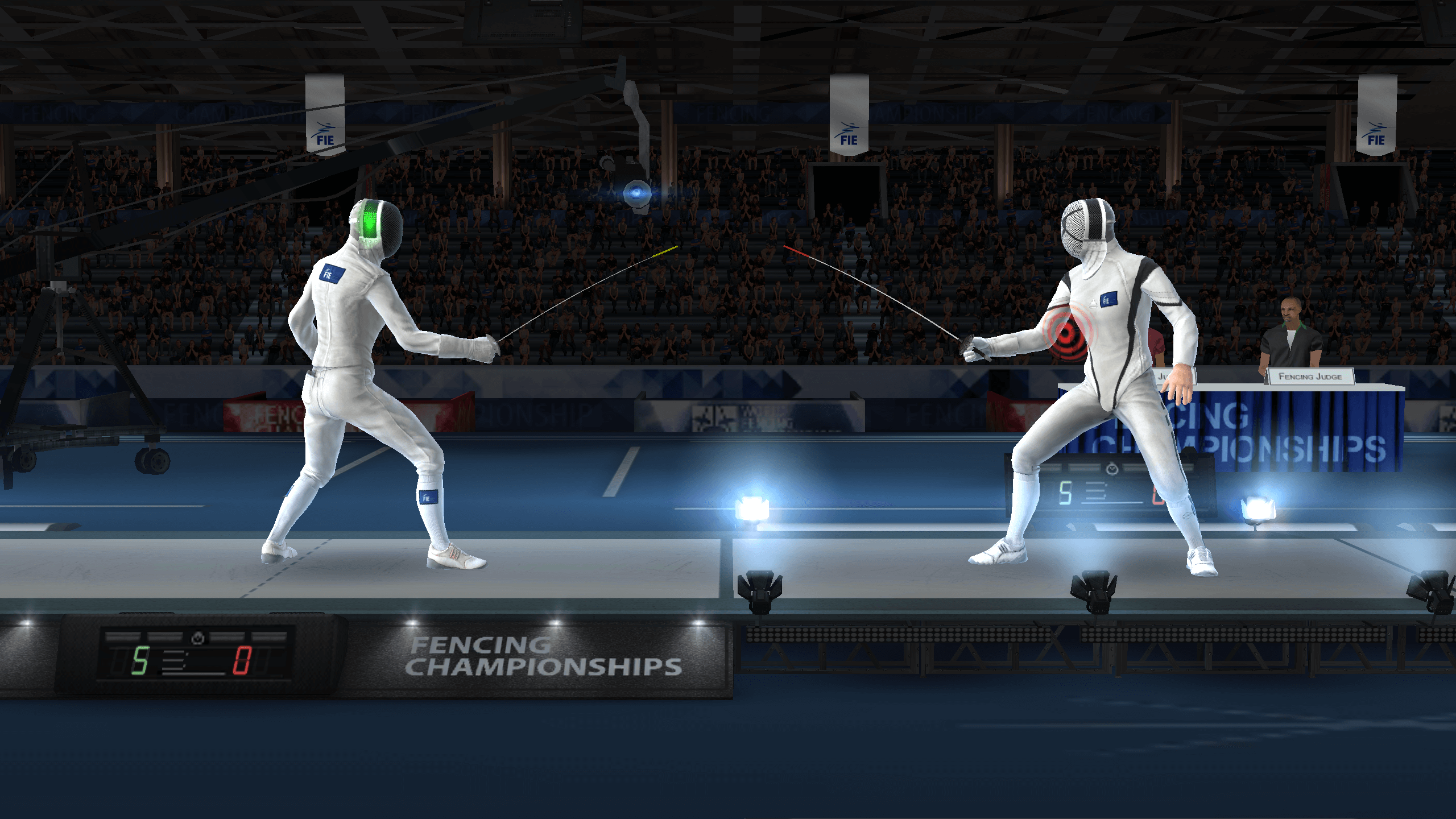 FIE Swordplay - první mobilní hra o sportovním šermování