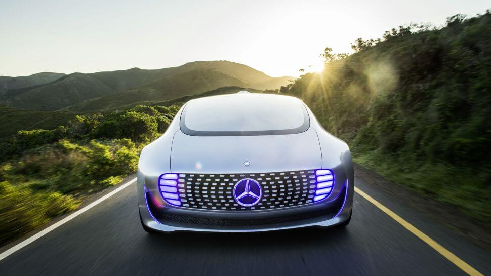 Mercedes self-driving