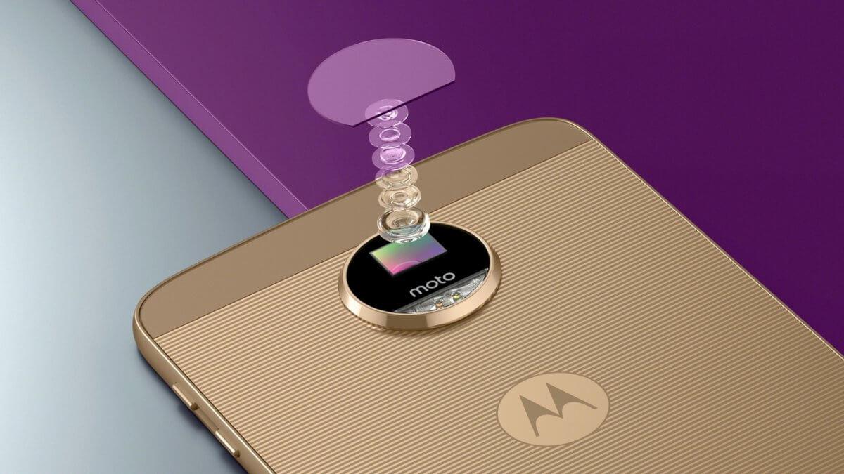 Motorola Moto Z kamera