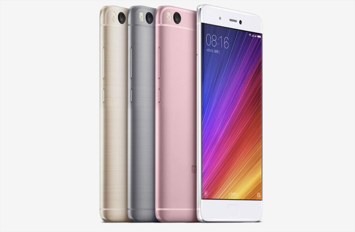Xiaomi Mi 5s varianty
