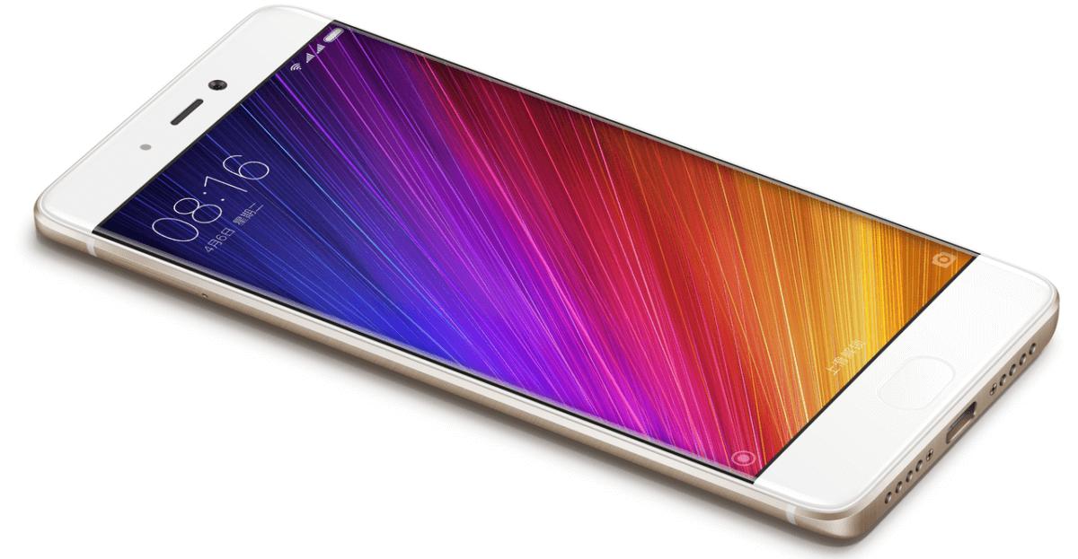 Xiaomi Mi 5s z boku