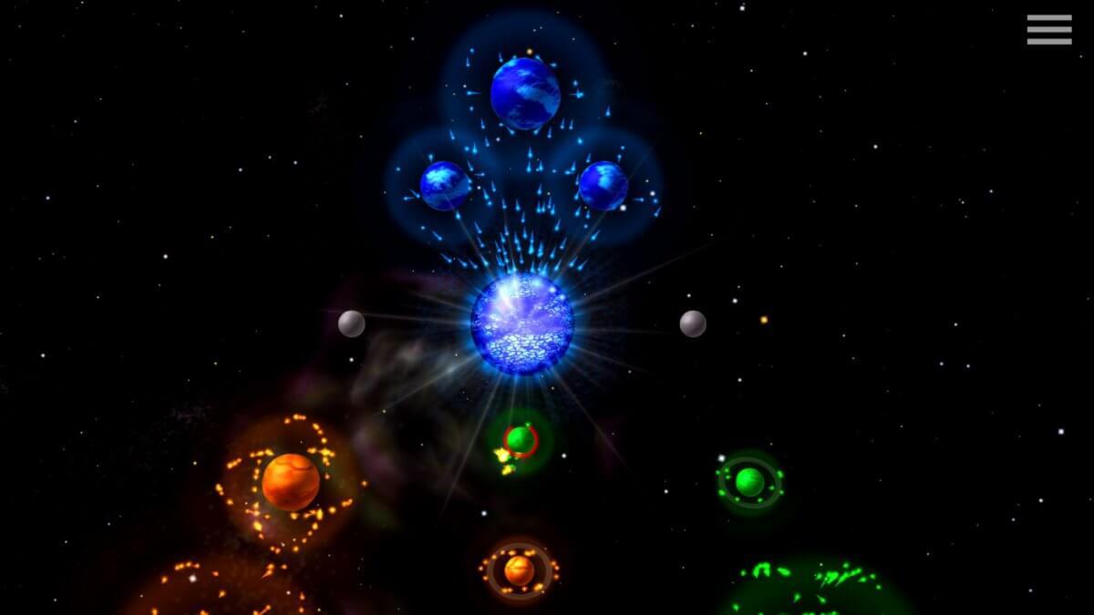 Auralux: Constellations - chvilka před zničením