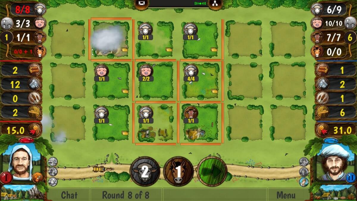 Agricola All Creatures - zvířata navíc, přes noc vám utečou a nebudete mít nic