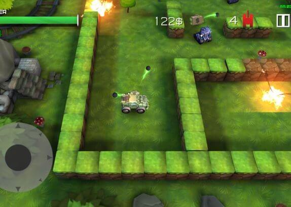 Block Tank Wars 2 - stará dobrá klasika