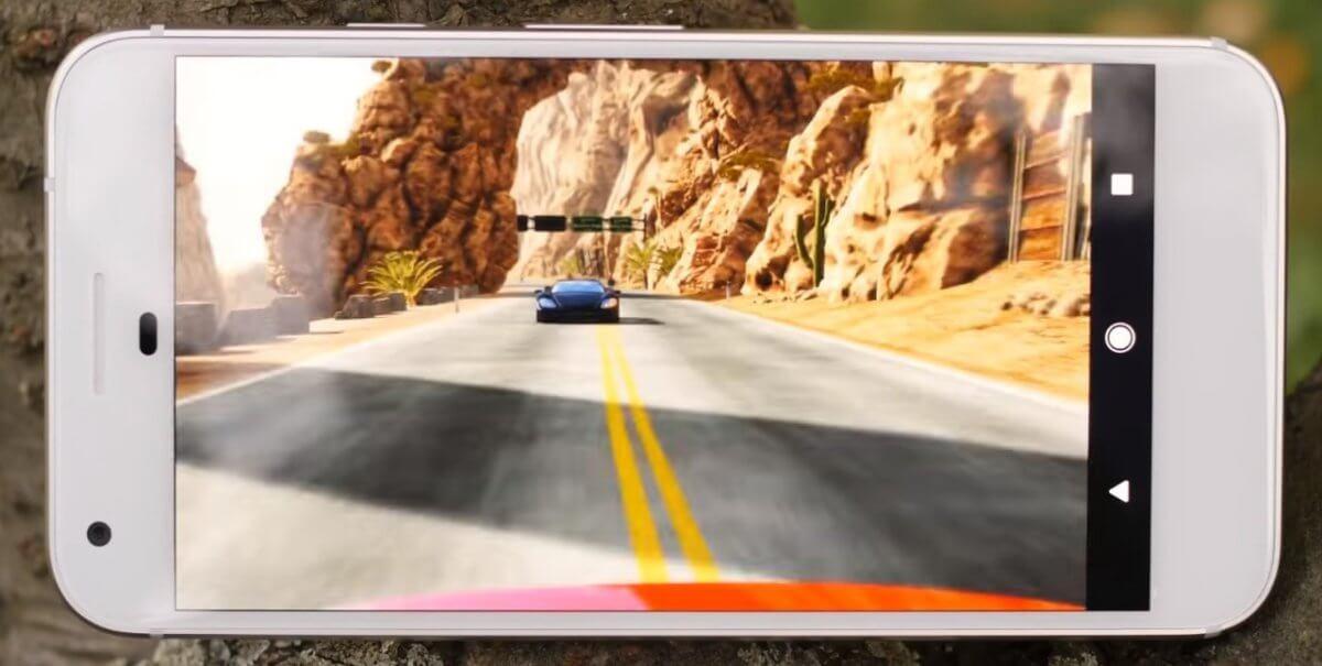 Google Pixel XL displej