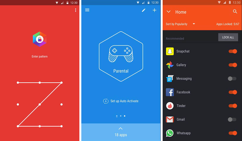 Hexlock - Zámek mobilních aplikací pro váš telefon