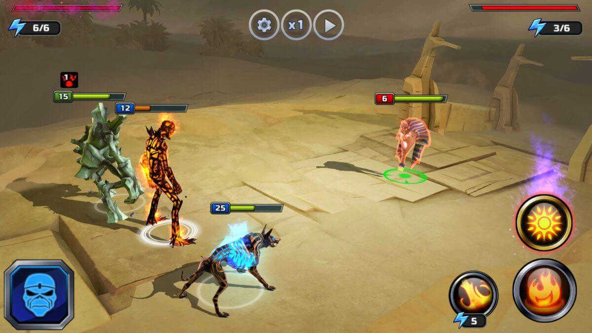 Maiden: Legacy of the Beast - souboj v pískovém světě