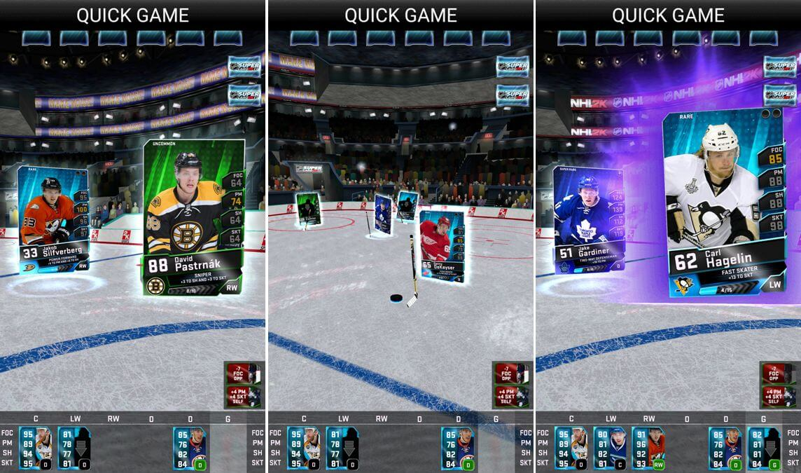 NHL SuperCard 2K17 - Pastrňák z Boston Bruins