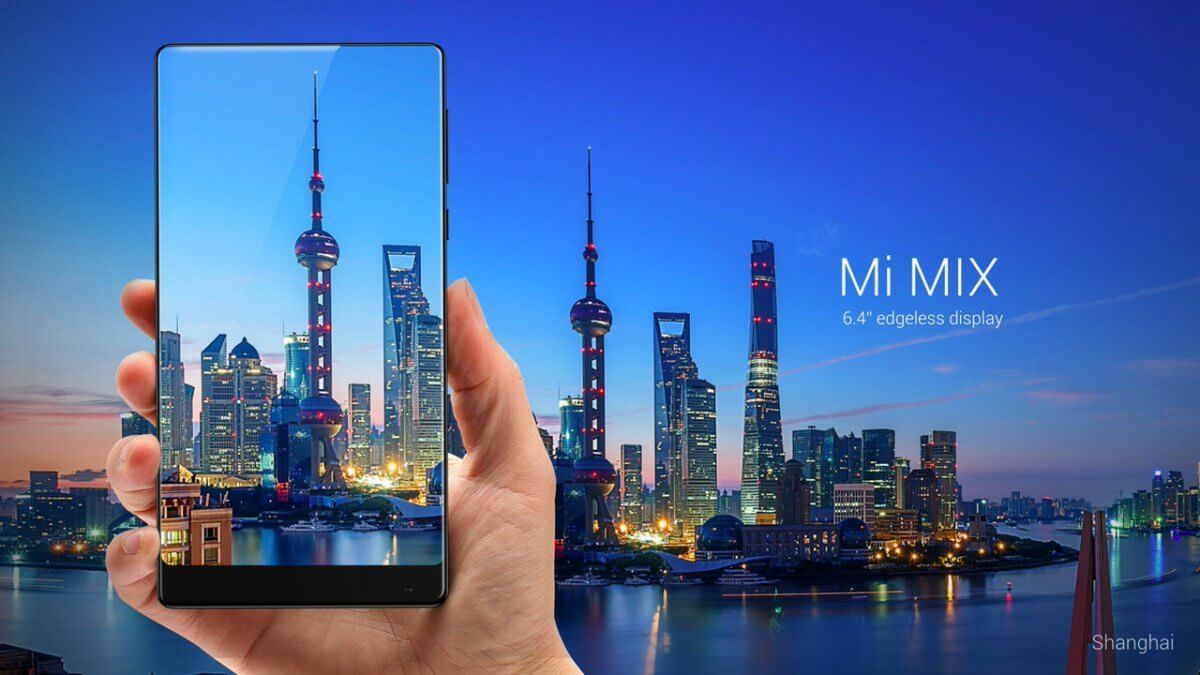 Xiaomi Mi Mix displej