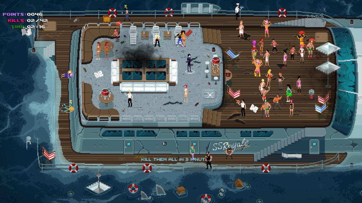Party Hard Go - Jedna party na velké jachtě