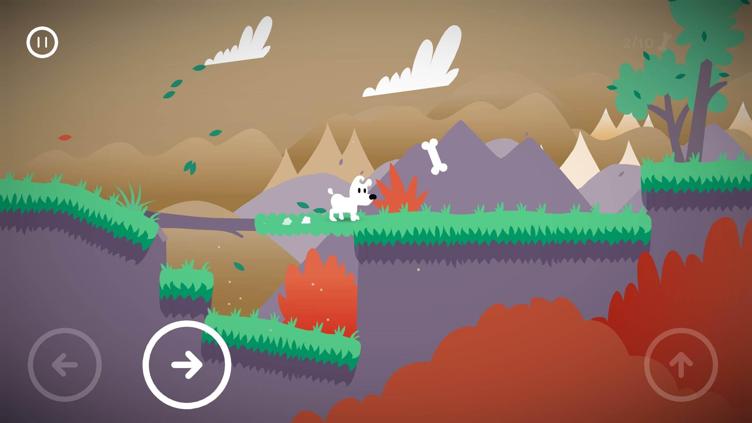 Mimpi Dreams - bílý pes na válečné výpravě