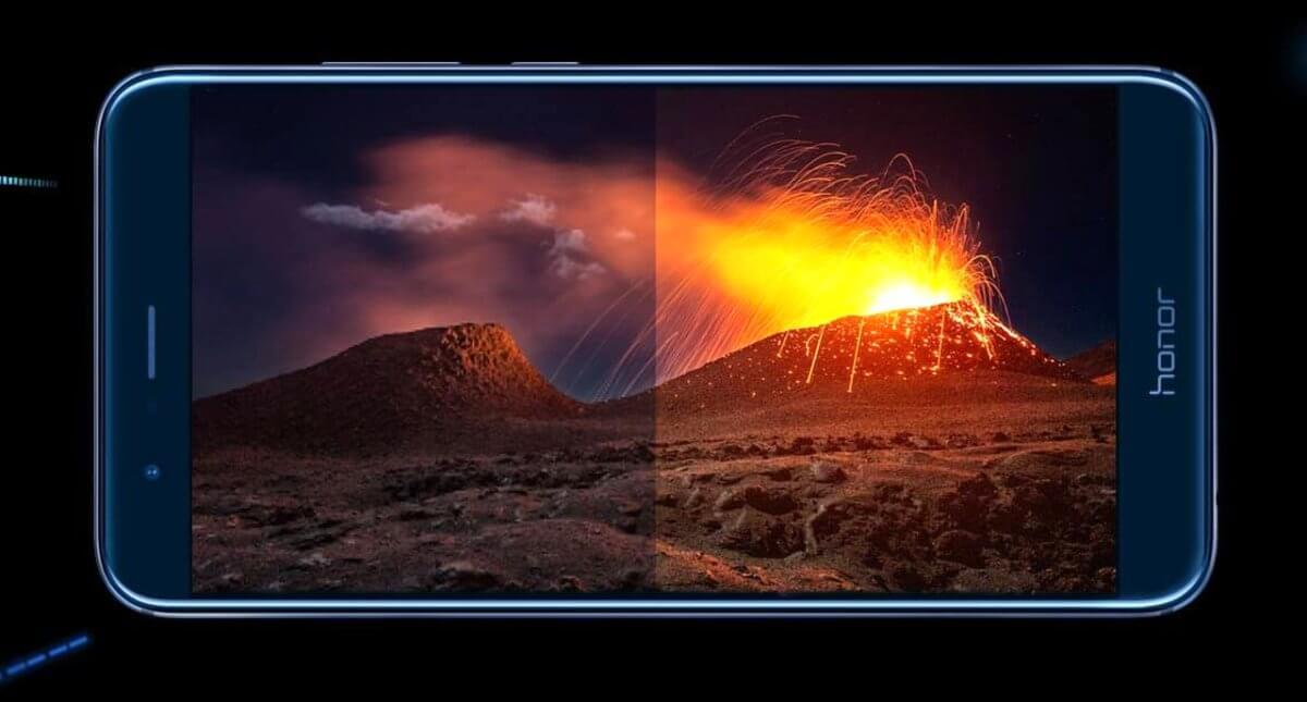 Huawei Honor 8 Pro displej