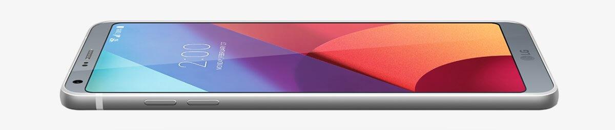 LG G6 z boku