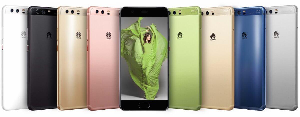 Huawei P10 Plus barvy