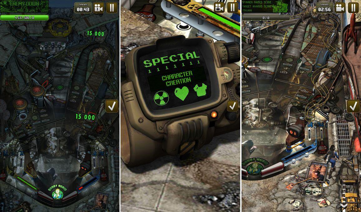 Bethesda Pinball - S.P.E.C.I.A.L. z Falloutu je tu taky