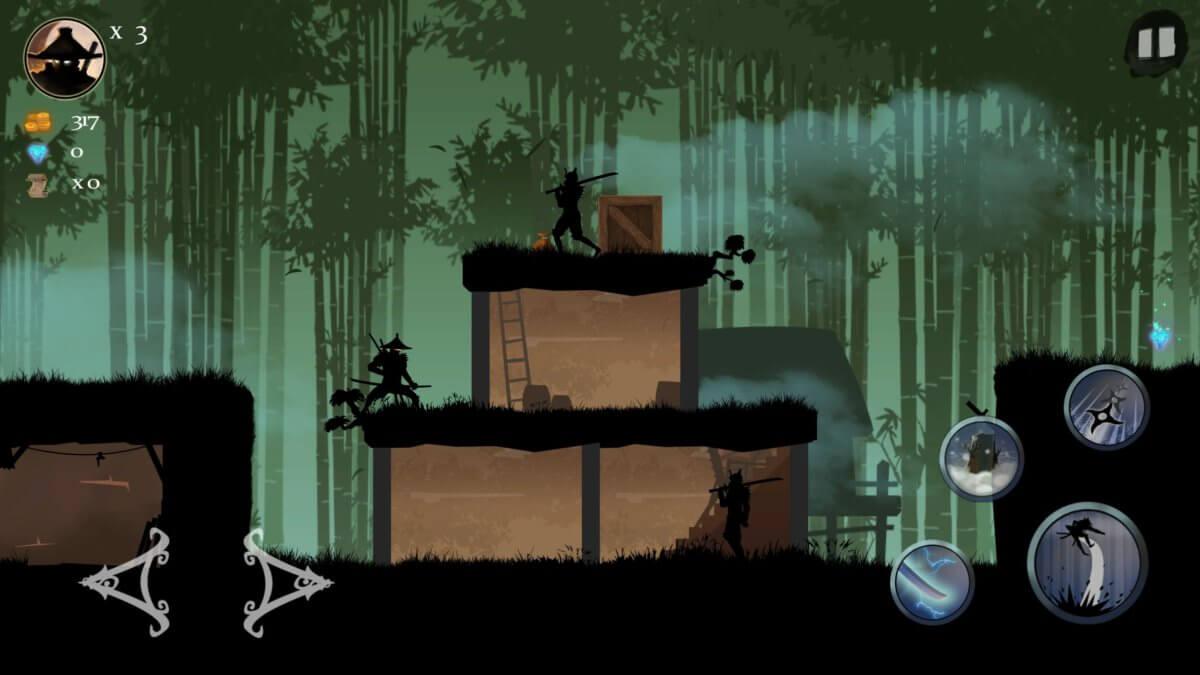 Ninja Arashi - trošku slídění nemůže uškodit