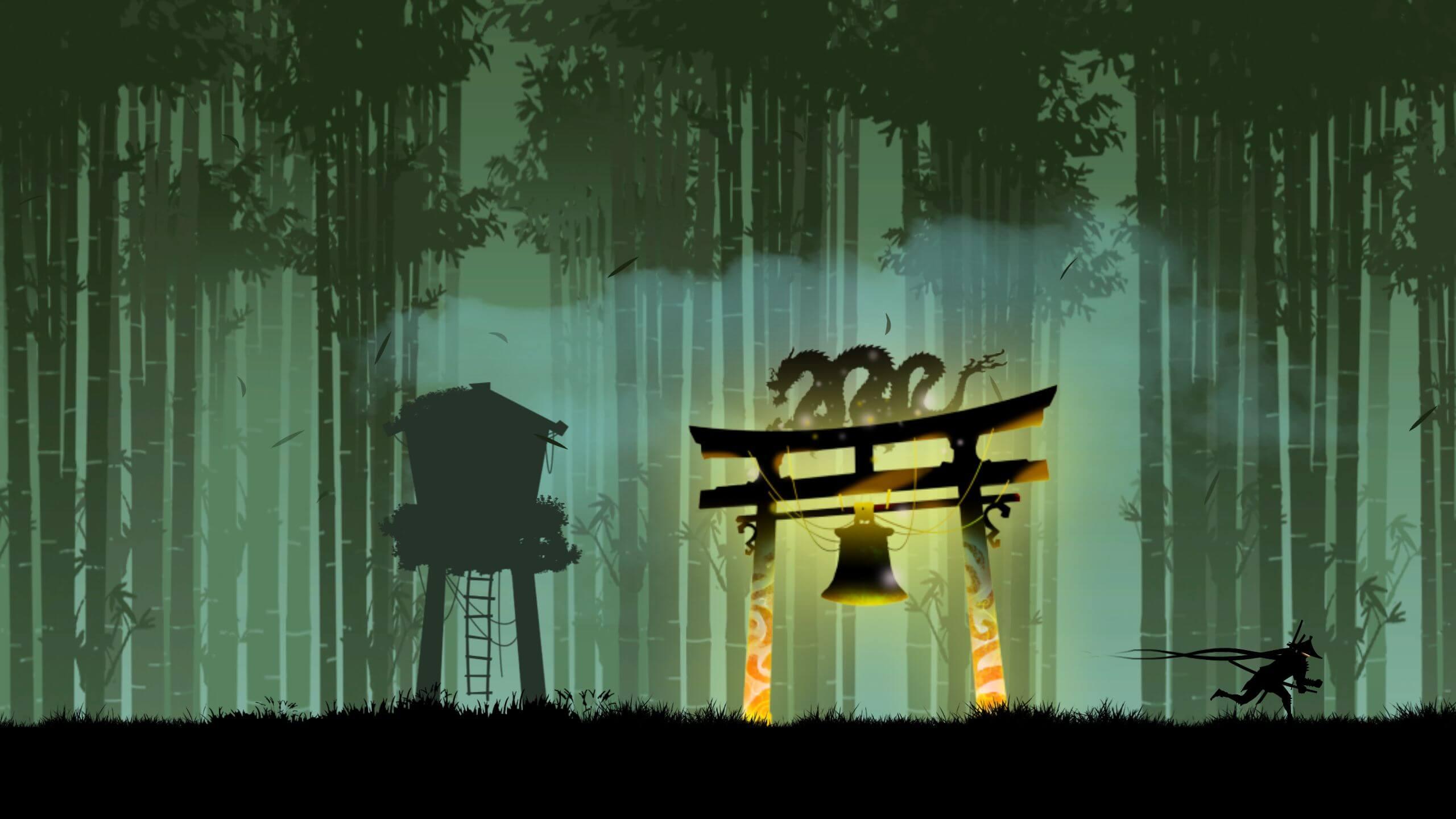 Ninja Arashi - něco mezi hrou a uměním