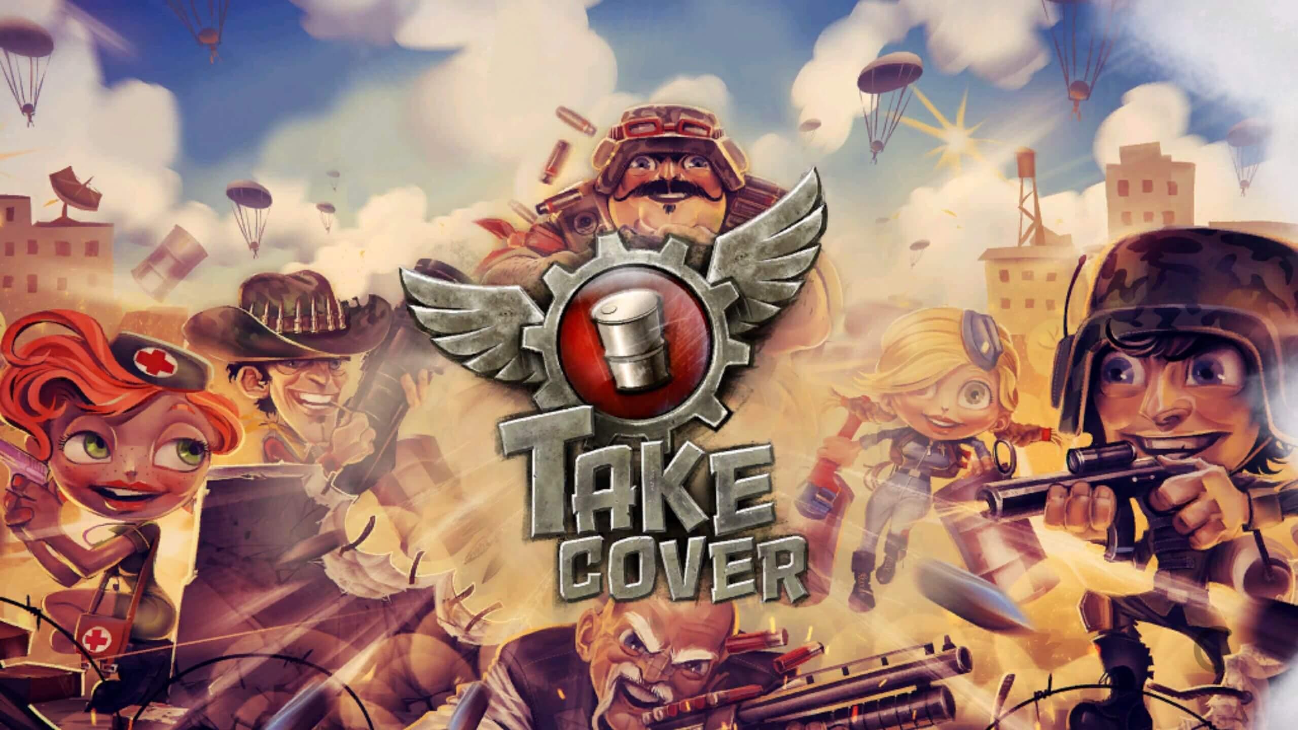Take Cover - takhle roztomilá grafika vás bude provázet po celou dobu hry
