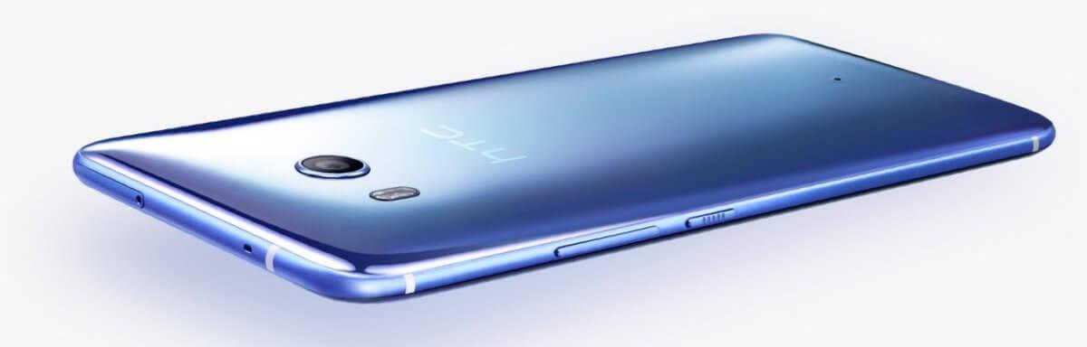 HTC U11 z boku