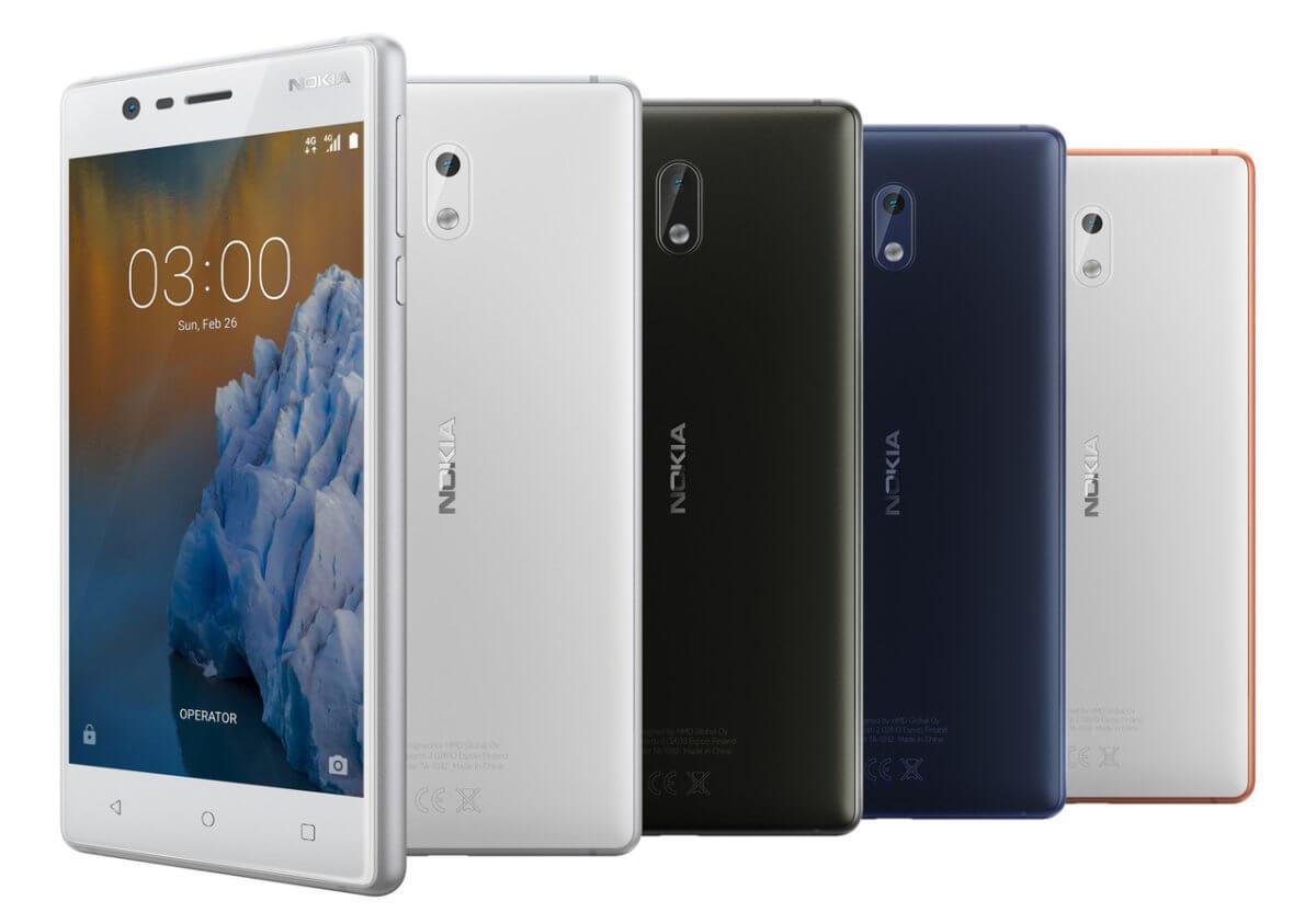 Nokia 3 barvy