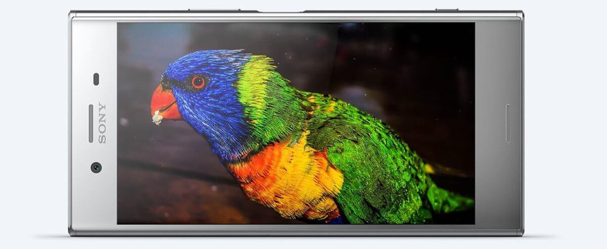Sony Xperia XZ Premium displej