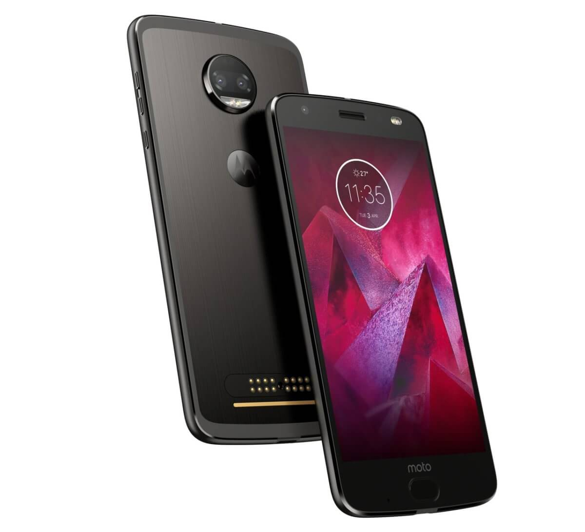 Motorola Moto Z2 Force detail