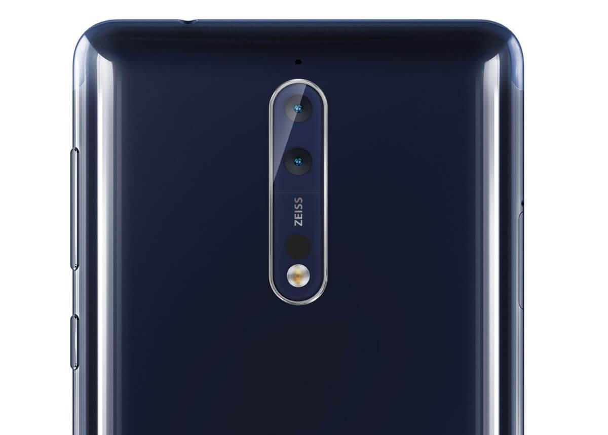 Nokia 8 kamera