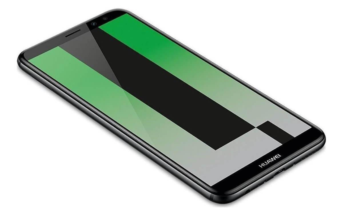 Huawei Mate 10 Lite z boku