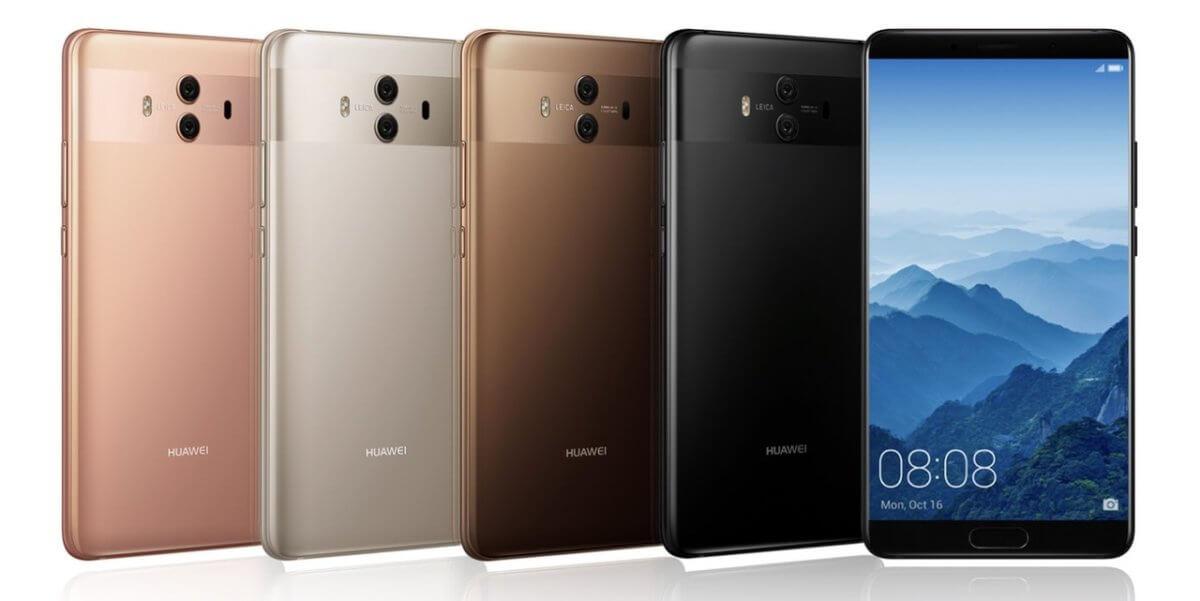 Huawei Mate 10 barvy