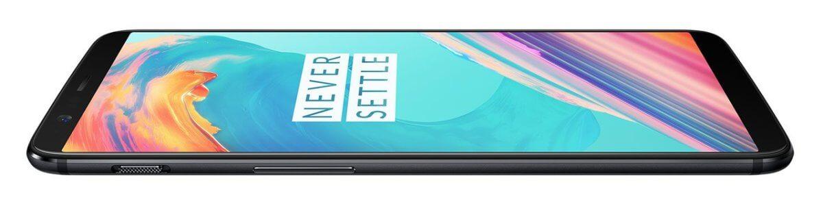 OnePlus 5T z boku