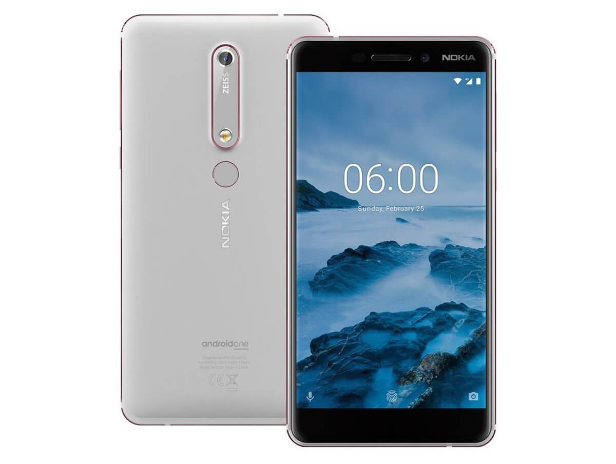 Nokia 6 (2018) official