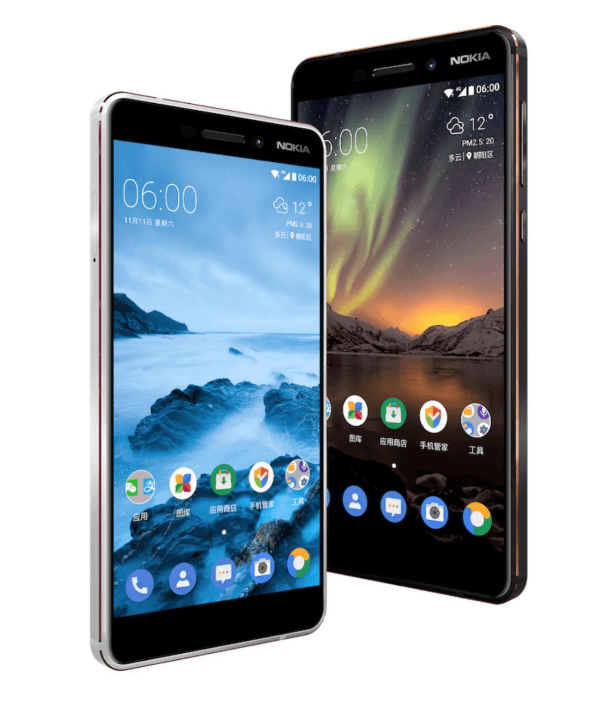 Smartphone Nokia 6 (2018)