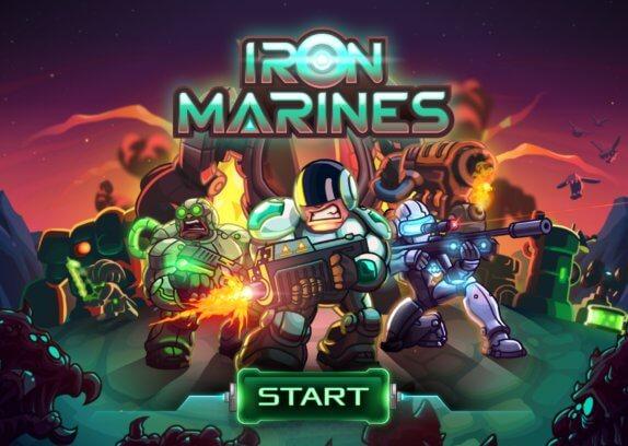 Iron Marines - je android strategie zasazená do vesmíru