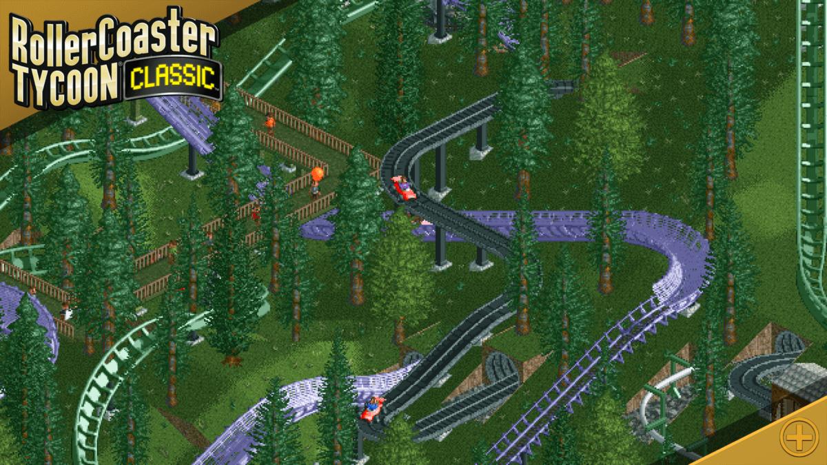 RollerCoaster Tycoon Classic - klíčové jsou velké horské dráhy