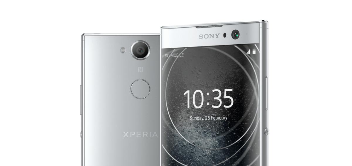 Sony Xperia XA2 detail
