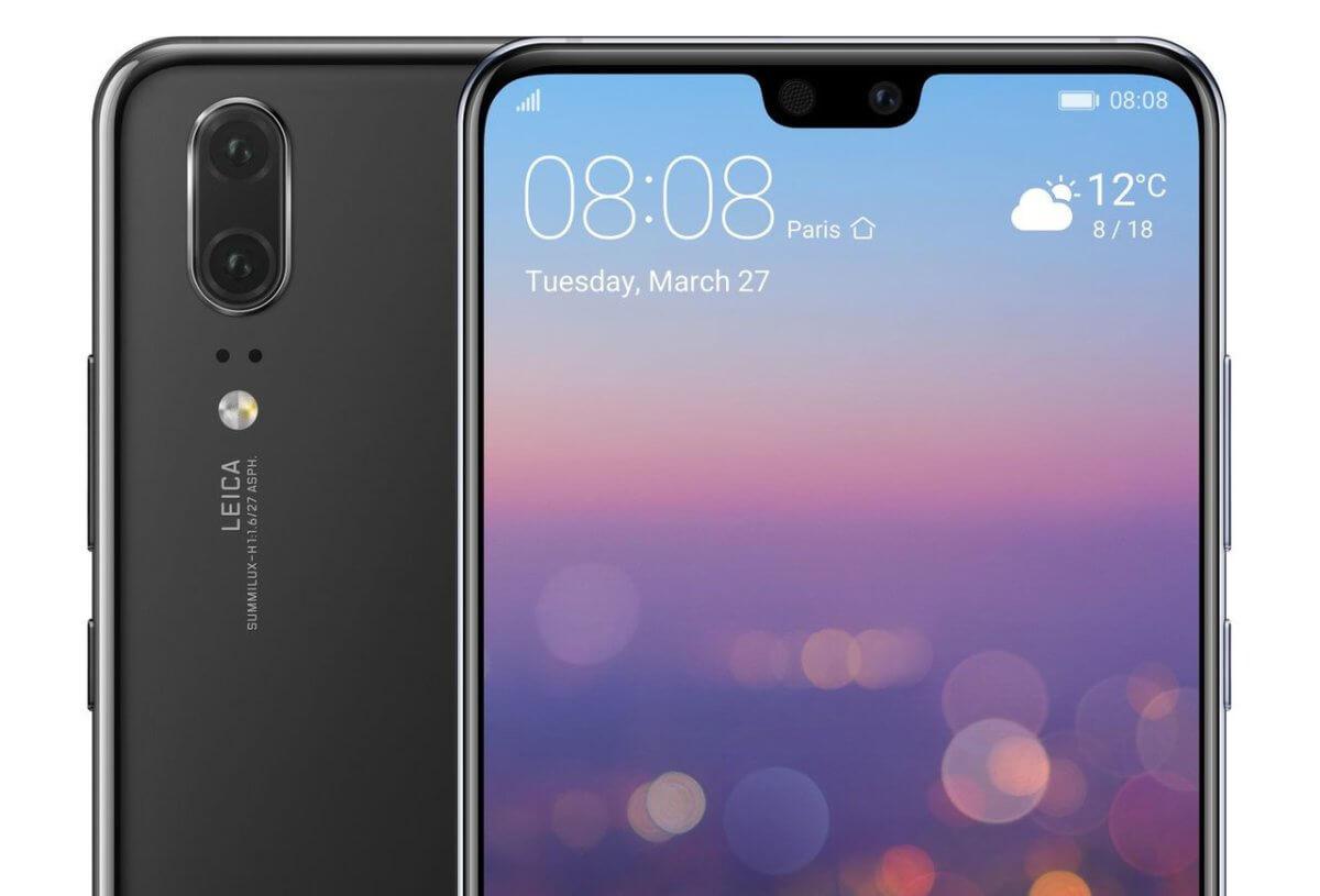 Huawei P20 detail