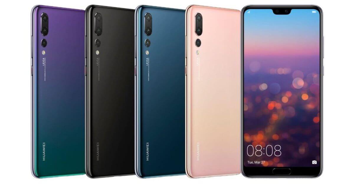 Huawei P20 Pro barvy