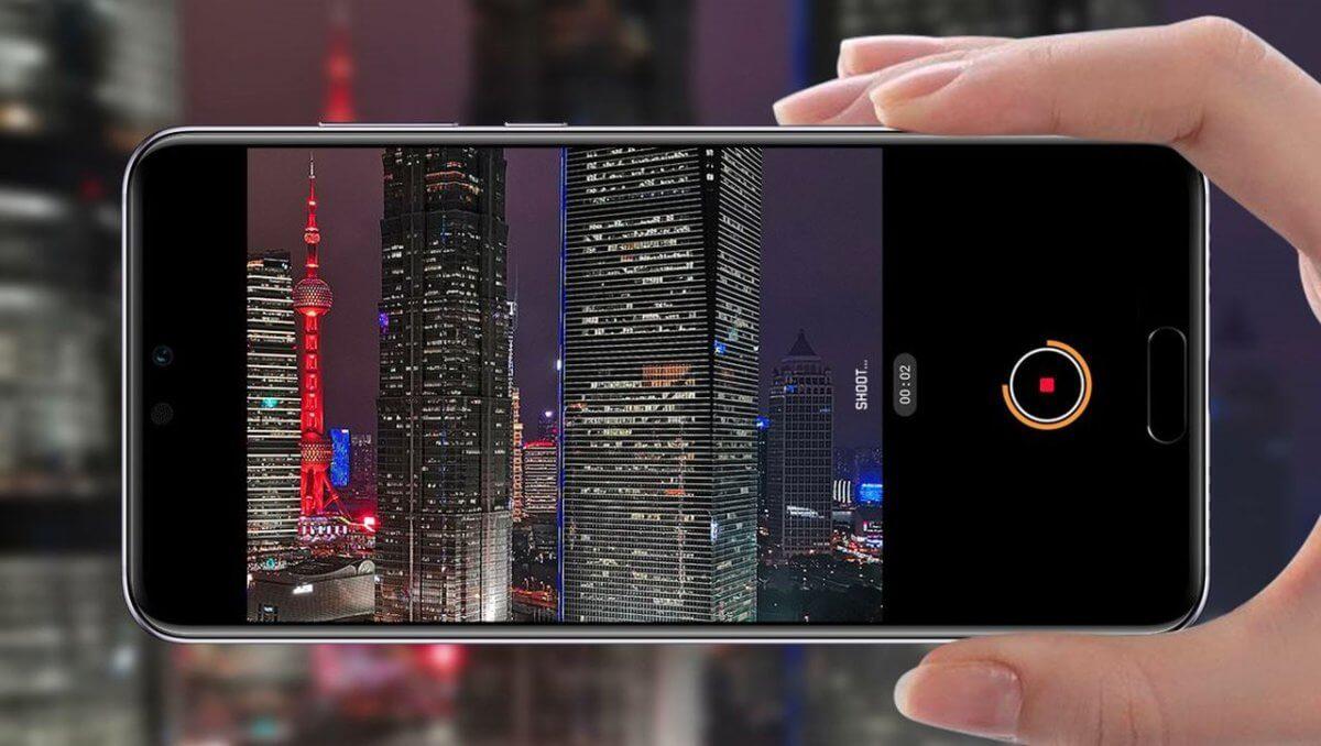 Huawei P20 Pro fotoaplikace
