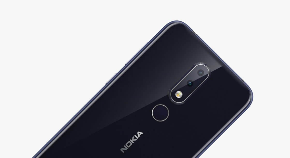 Nokia 6.1 Plus detail