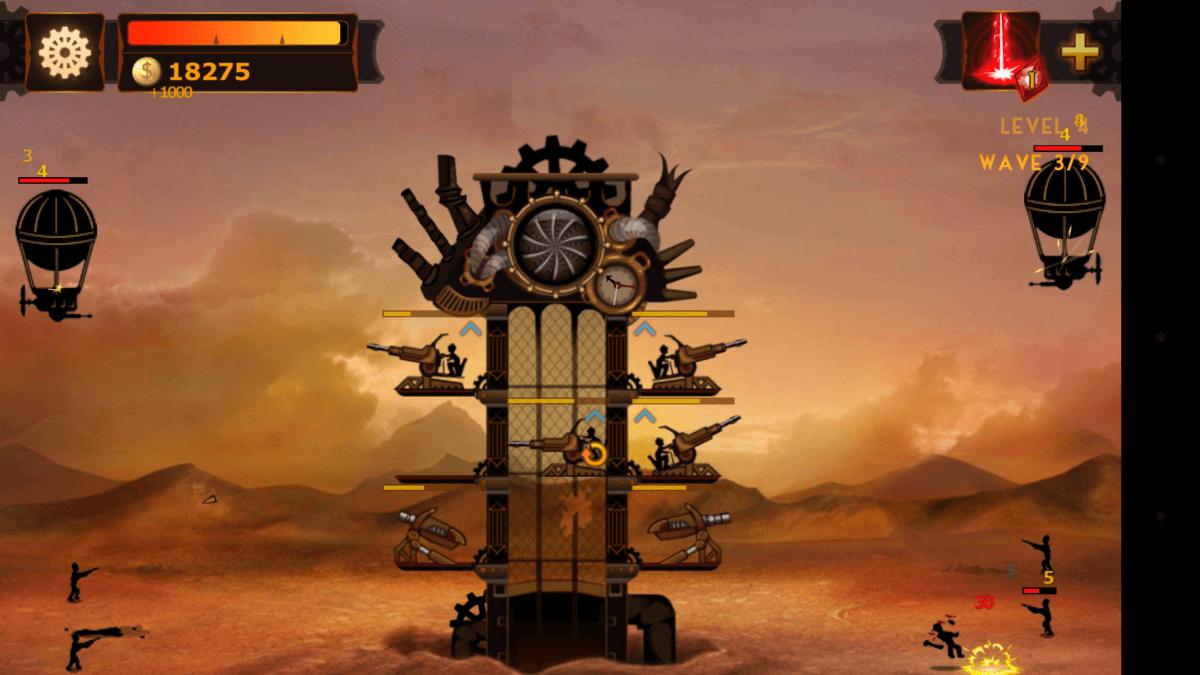Steampunk Tower - grafika se moc nemění, ale přesto je  krásná