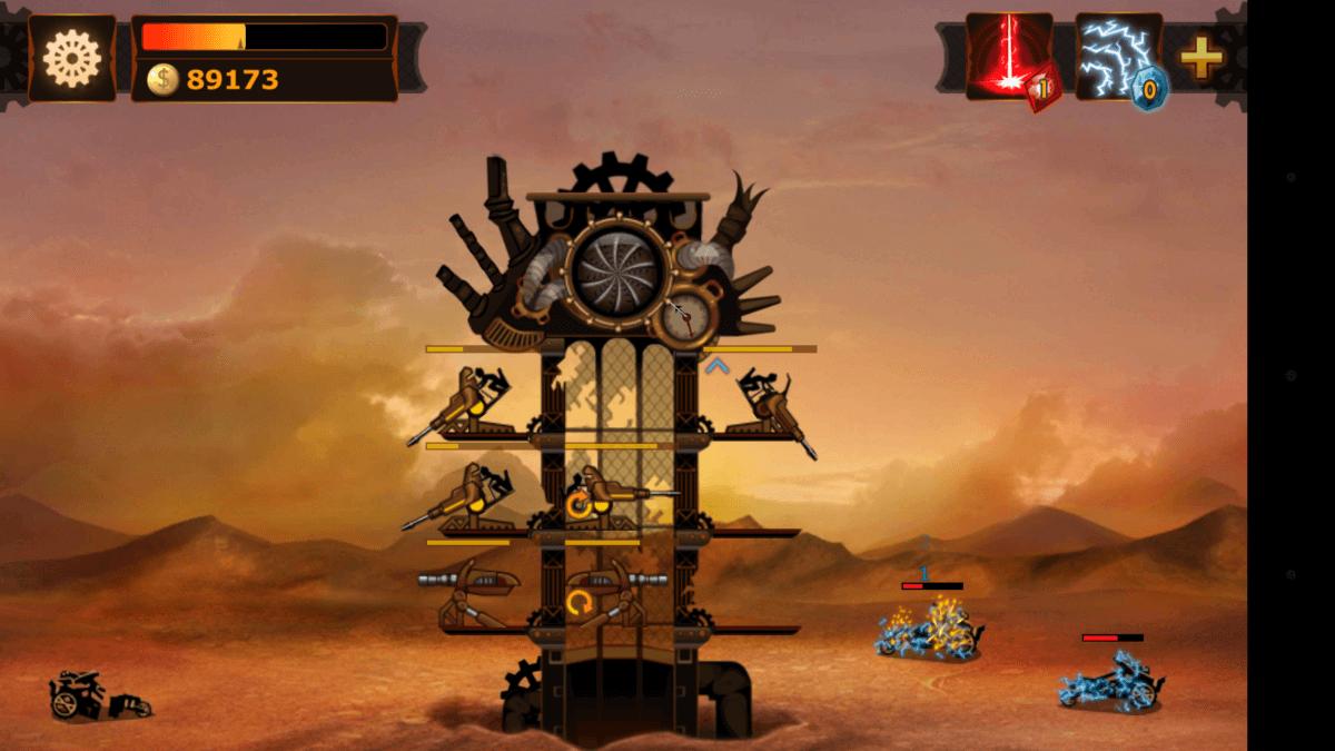 Steampunk Tower má spoustu možností