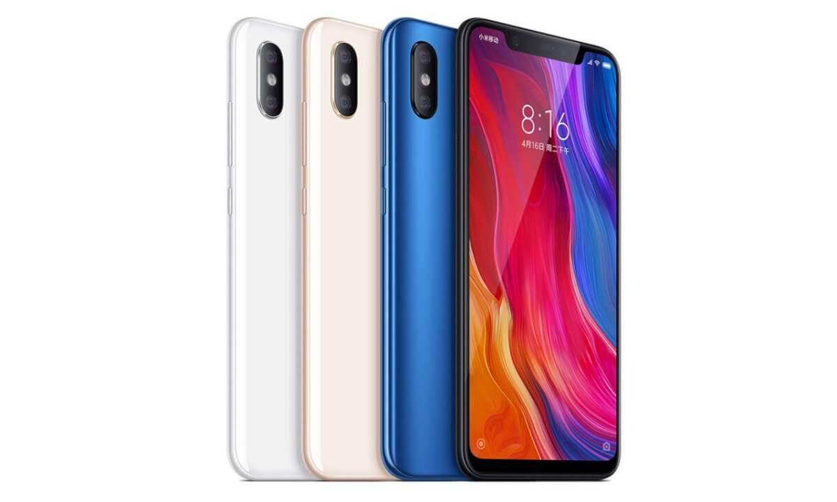 Xiaomi Mi 8 barvy